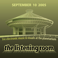 Flyer: The Listening Room 2005